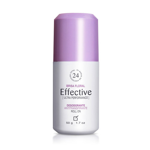 DESODORANTE ANTITRANSPIRANTE EFFECTIVE ROLL ON BRISA FLORAL