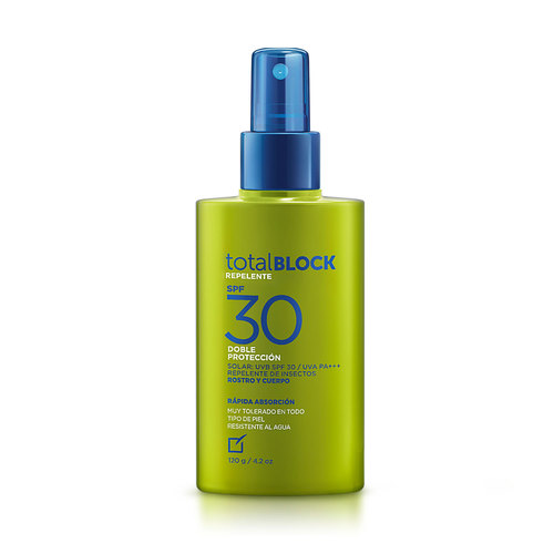 TOTAL BLOCK REPELENTE SPF 30