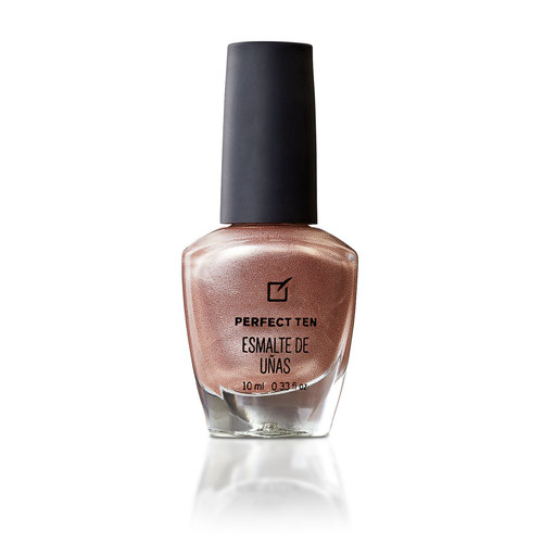PERFECT TEN ESMALTE DE UÑAS MELON COBRIZO